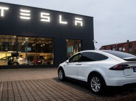 Акции Tesla упали на 17% после недельного роста на новостях из КНР